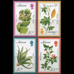 MONTSERRAT 1997 - Scott# 929-32 Herbs Set of 4 NH