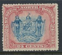 North Borneo SG 109 MLH perf 14 see details error inscription see scans