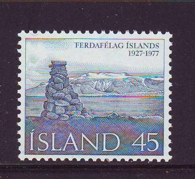 Iceland Sc 503 1977 Touring Club stamp mint NH