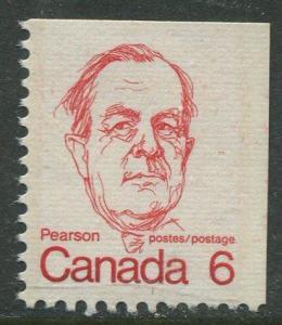 STAMP STATION PERTH Canada #591 Booklet Single Stamp 1972 MNH CV$0.40