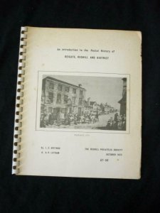 POSTAL HISTORY OF REIGATE, REDHILL & DISTRICT by BRITNOR & LATHAM