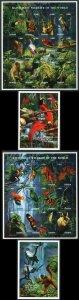 Ghana SG2295/2355 1996 Birds set U/M
