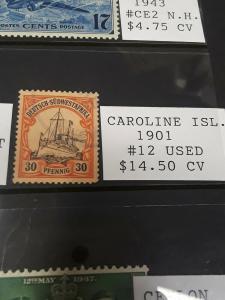 Caroline Island 1901 30pf