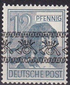 Germany #604 Inverted Overprint Error  CV $105.00  (Z5687 )