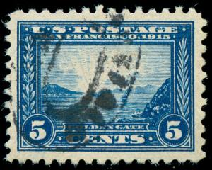 momen: US Stamps #403 Used PSE Graded XF-SUP 95