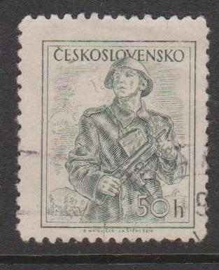 Czechoslovakia Sc#649 Used