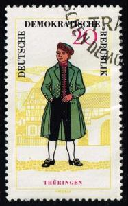 Germany DDR #743 Man from Thuringia; CTO (0.90)