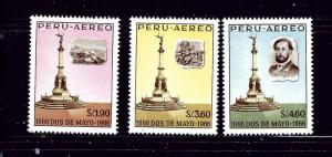 Peru C200-02 MH 1966 set