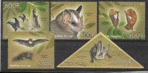 2014   CONGO  -  BATS  -  MNH
