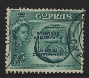 Cyprus Sc#189 Used