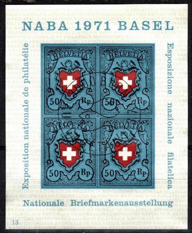 Switzerland #530  F-VF Used CV $4.00  (X5386)