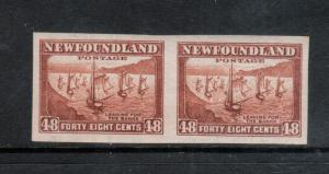 Newfoundland #198a Extra Fine Never Hinged Imperf Pair