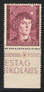 Germany - Occupation Poland 1943 Sc# NB27 MNH VG/F