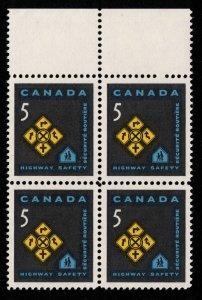 Canada - Traffic Signs - Mint Block NH SC447