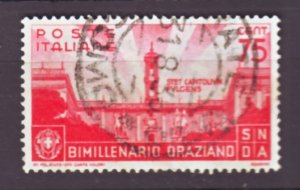 J22586 Jlstamps 1936 italy part of set used #363 capitol