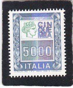 Italy,  #  1295    MNH