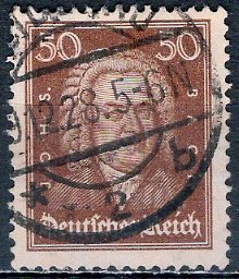 Germany; 1926: Sc. # 361: O/Used Single Stamp