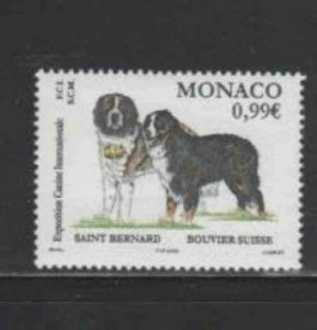MONACO #2248 2002 INTERNATIONAL DOG SHOW MINT VF NH O.G