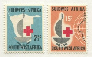 SOUTH WEST AFRICA #295-296 MINT