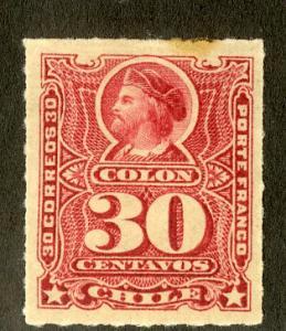 CHILE 33 MH SCV $9.00 BIN $3.50 PERSON