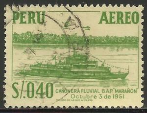 Peru Air Mail 1953 Scott# C115 Used