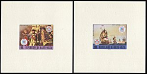 Upper Volta 403-404,C241-C243, MNH, 5 Deluxe Sheets Interphil '76 Exhibition