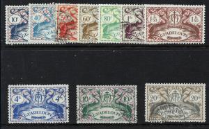 Guadeloupe 1945 mix short set scv $5.80 BIN $2.90 Save 50%
