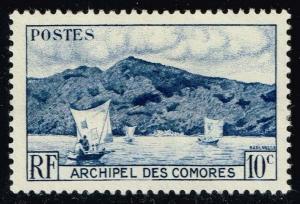 Comoro Islands #30 Anjouan Bay; Unused (0.65)