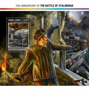 Sierra Leone - 2017 Battle of Stalingrad - Souvenir Sheet - SRL17216b