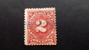 United States 2c Postage Due Used