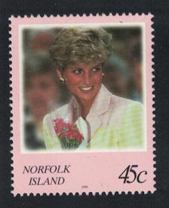 Norfolk Diana Princess of Wales Commemoration 1v SG#664 SC#644
