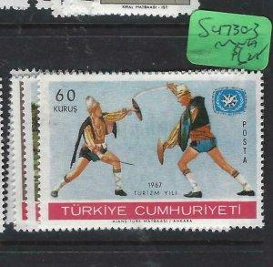 TURKEY   (PP1308BB)      SC 1730-3       MNH