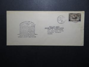 Canada 1933 Green Lake to Big River First Flight Cover - Z11259