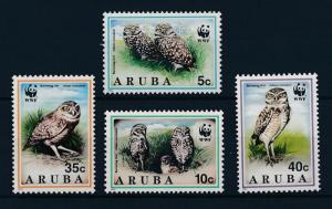 [AR134] Aruba 1994 Birds WWF  MNH