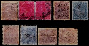 Cape of Good Hope Revenue stamps - Average condition - Excellent cancellations!