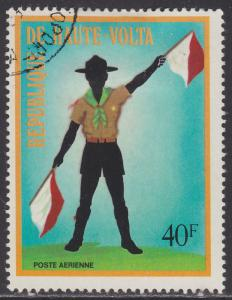 Burkina Faso C160 Scout With Signal Flags 1973