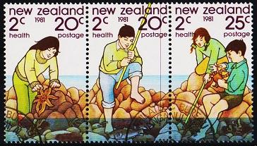 New Zealand. 1981 Strip of 3. S.G.1249/1251 Fine Used