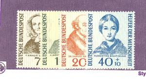 Germany #B344-47  Mint VF NH