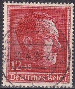 Germany #B118 F-VF Used CV $2.60 (Z4627)