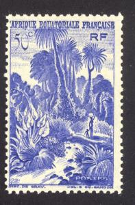 French Equatorial Africa 169 MNH
