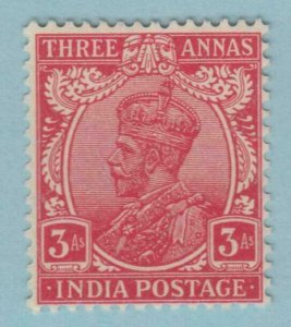 INDIA  115 MINT HINGED OG *  NO FAULTS VERY FINE !