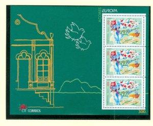 AZORES EUROPA 1998 #447a...SOUV. SHEET...MNH...$5.00