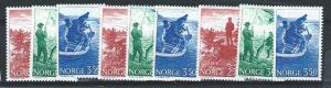 Wholesale lot. Norway 836-838 x3 each (NH)
