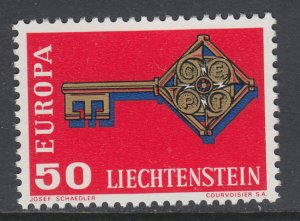 Liechtenstein 442 Europa MNH VF