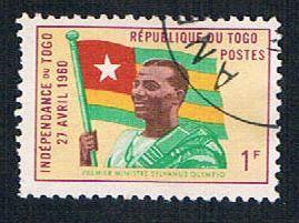 Togo 378 Used Togo Flag (BP09322)