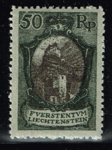 Liechtenstein SC# 67 - Mint Hinged - Lot 110115