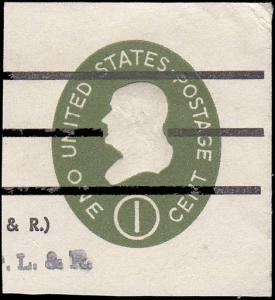 Scott U532a Franklin Used Cut Square CV $3.00