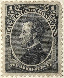 AlexStamps HONDURAS #32 XF Mint