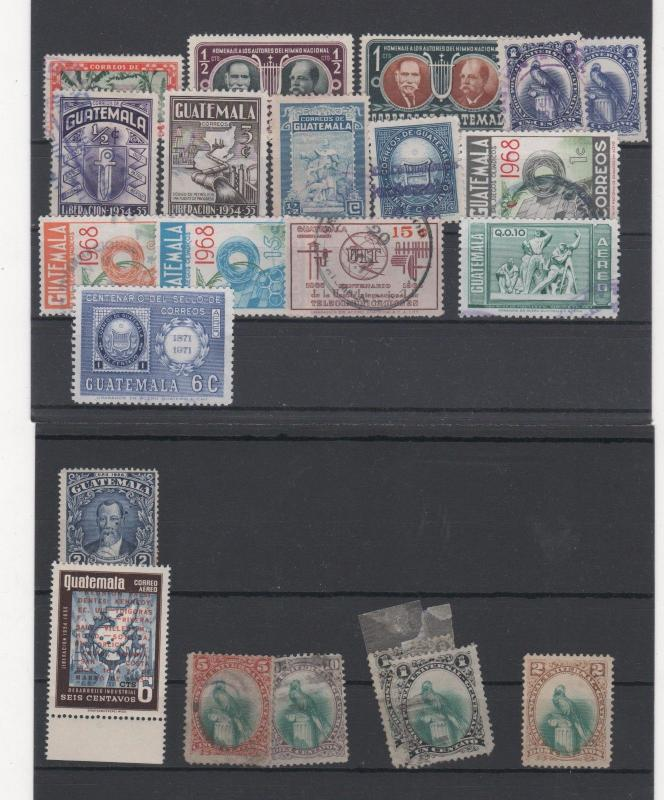 GUATEMALA STAMPS SHOW DEALER CLOSEOUT LOT 20 1117