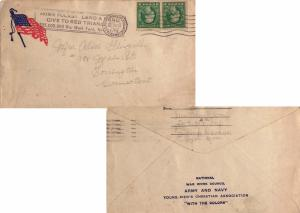 United States Massachusetts Devens Branch Fitchburg, Mass 1917 Universal Mach...